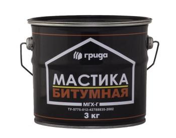 Мастика битумная МГХ-Г (3 кг)