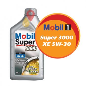 Mobil Super 3000 XE 5W-30 (1 литр)