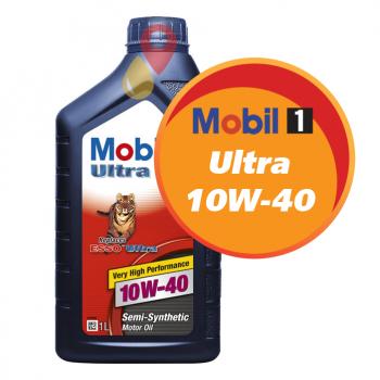 Mobil Ultra 10W-40 (1 литр)