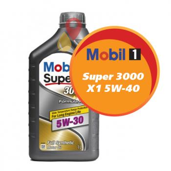Mobil Super 3000 X1 5W-40 (1 литр)