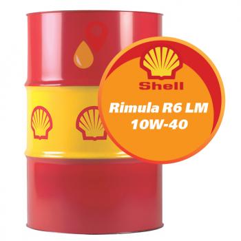 Shell Rimula R6 LM 10W-40 (208 литров)