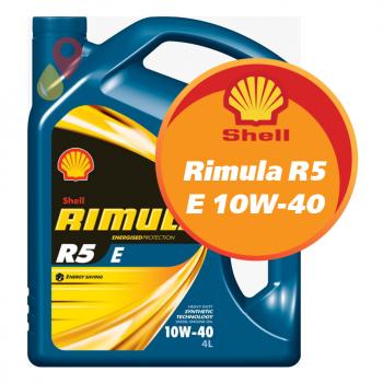 Shell Rimula R5 E 10W-40 (4 литра)