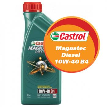 Castrol Magnatec Diesel 10W-40 B4 (1 литр)