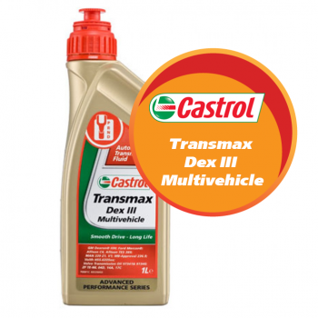 Castrol Transmax Dex III Multivehicle (1 литр)