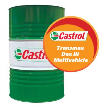 Castrol Transmax Dex III Multivehicle (208 литров)