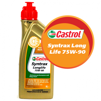 Castrol Syntrax Long Life 75W-90 (1 литр)