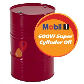 Mobil 600W Super Cylinder Oil (208 литров)