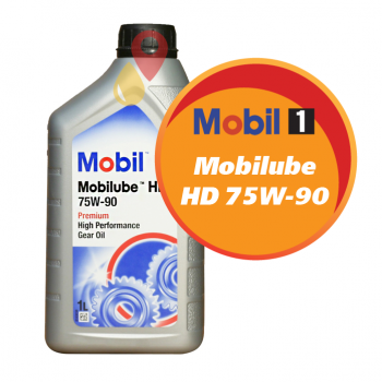 Mobilube HD 75W-90 (1 литр)