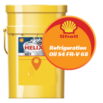 Shell Refrigeration Oil S4 FR-V 68 (20 литров)