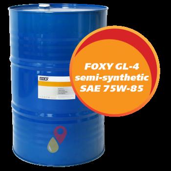 FOXY GL-4 semi-synthetic SAE 75W-85 (216,5 литров)