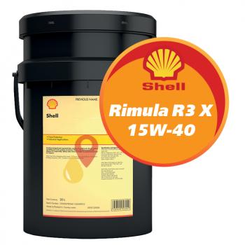 Shell Rimula R3 X 15W-40 (20 литров)