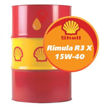 Shell Rimula R3 X 15W-40 (209 литров)