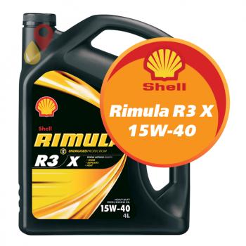 Shell Rimula R3 X 15W-40 (4 литра)