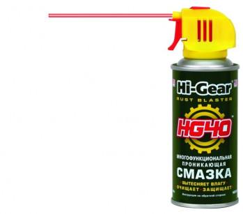 Многофункциональная проникающая смазка HG40 Hi-Gear (140 г)