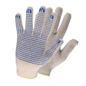 Перчатки хб с ПВХ 7.5 класс 5 нитей