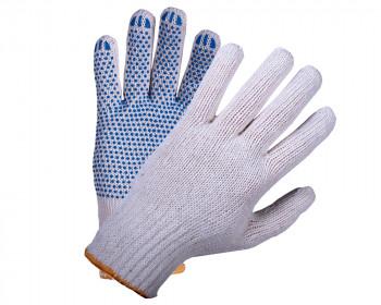 Перчатки хб с ПВХ 7.5 класс 4 нити