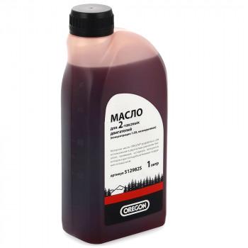 Масло для 2-тактных двигателей бензопил и газонокосилок Oregon (1 литр)